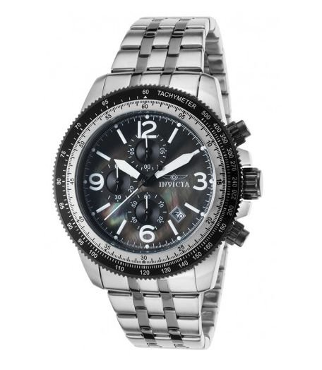 RELOGIO INVICTA Specialty Chronograph Black Dial Men's Watch