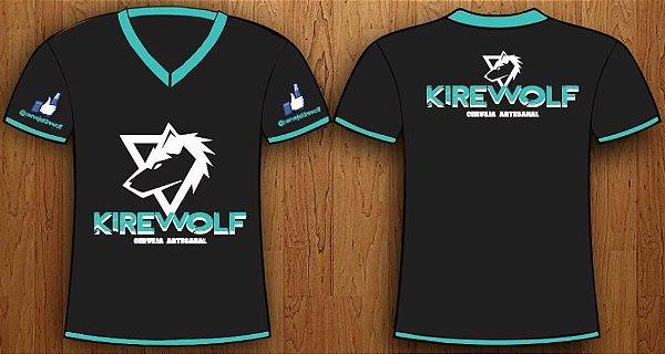 Camiseta Personalisada Kirewolf Preta