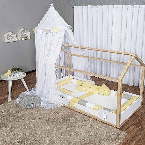 Kit Montessoriano 07 Peças Amarelo