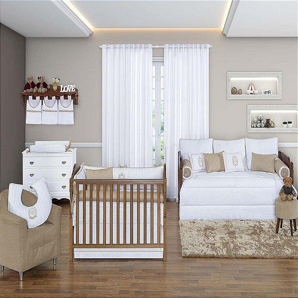 Quarto de Bebê 200 Fios 18 Peças Coleção Algodão Doce