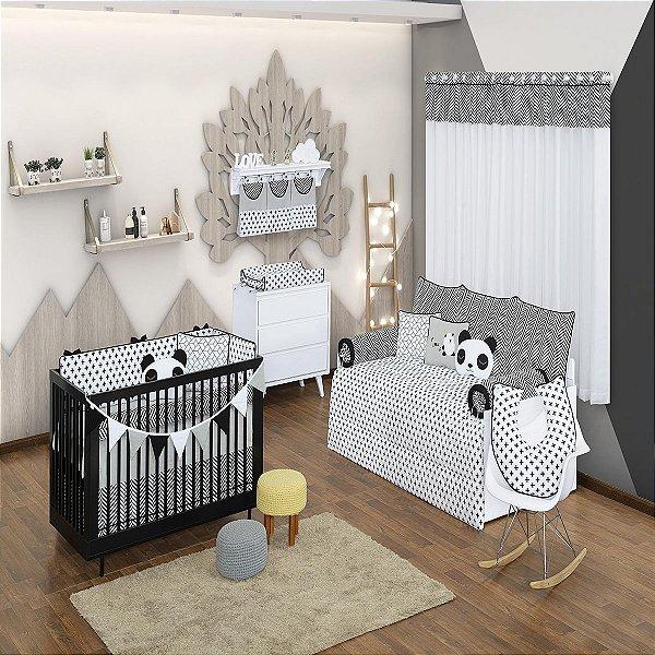 Quarto de Bebê 29 Peças Coleção Panda