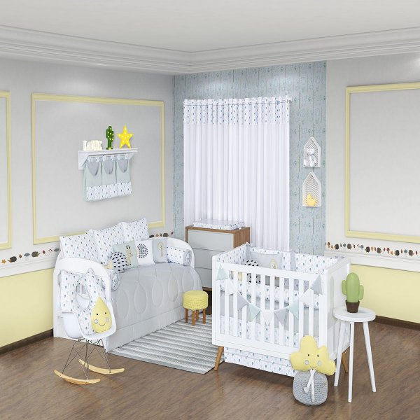Quarto de Bebê 18 Peças Coleção Forest