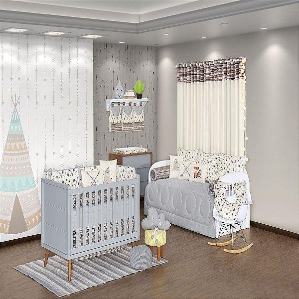 Quarto de Bebê 29 Peças Coleção Little Indian