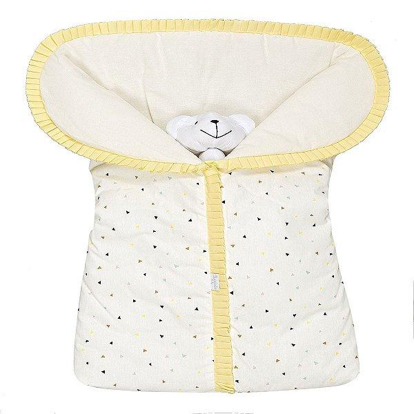 Porta Bebê Estampado Triângulo Colorido