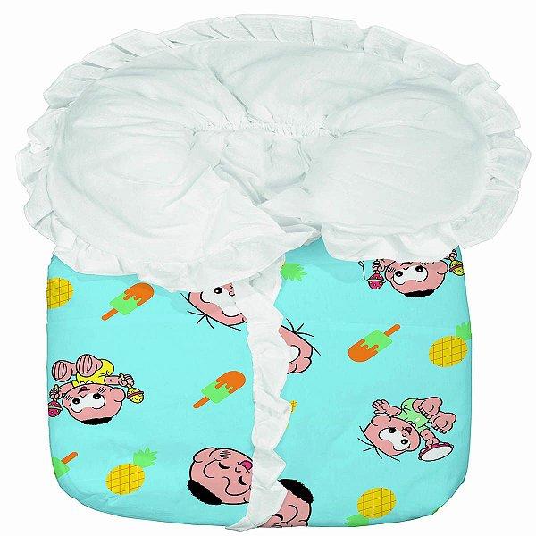 Porta Bebê Cebolinha e Cascão