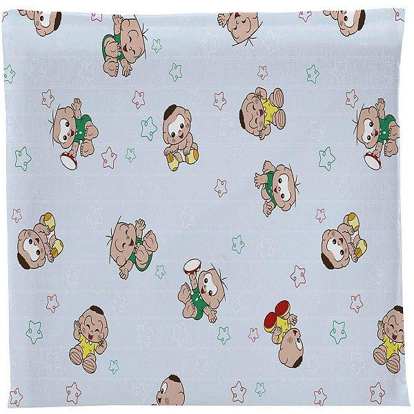 Travesseiro para bebê em Malha Antissufocante Estampado Cebolinha e Cascão