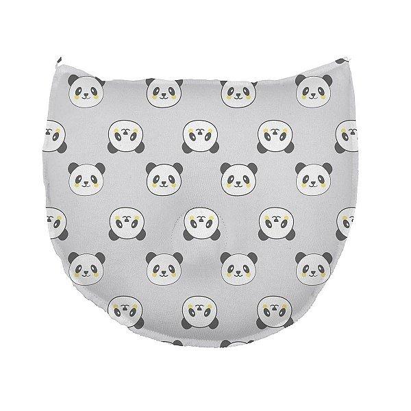 Travesseiro para Bebê Anatômico Estampado Panda