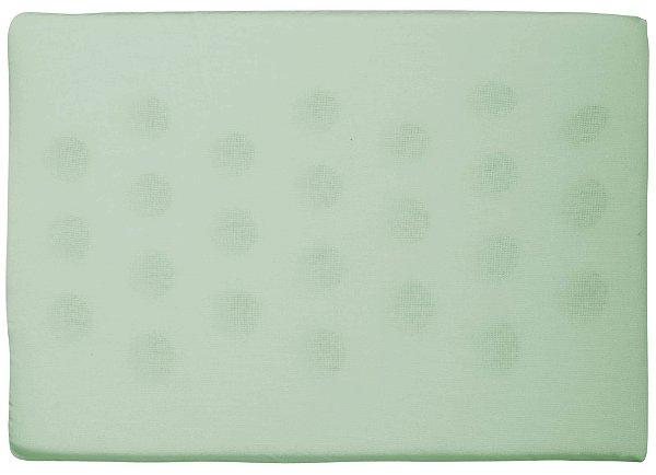 Travesseiro Antissufocante Liso Verde