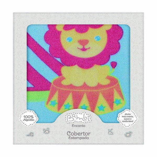 Cobertor para Bebê Estampado Circo