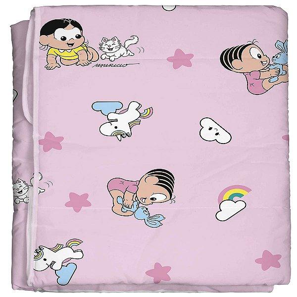 Edredom para Bebê 100% algodão Turma da Mônica Baby