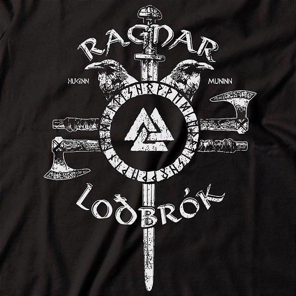 Camiseta Vikings Ragnar