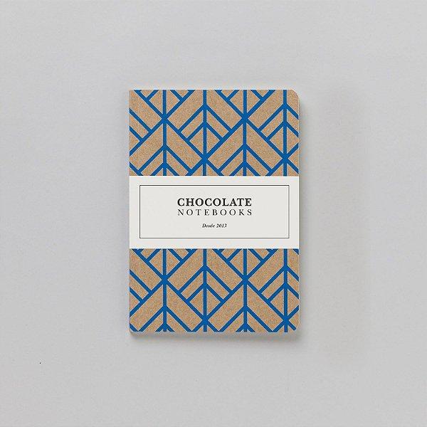 Caderno Pontilhado Médio Chocolate Notebooks Escamado