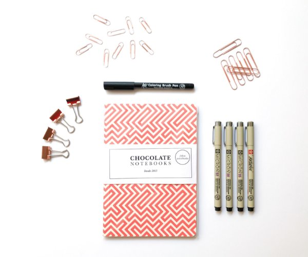 Super Kit BuJo 2018 Chocolate Notebooks