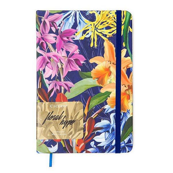 Caderno Pontilhado Médio Cicero Floral Hype