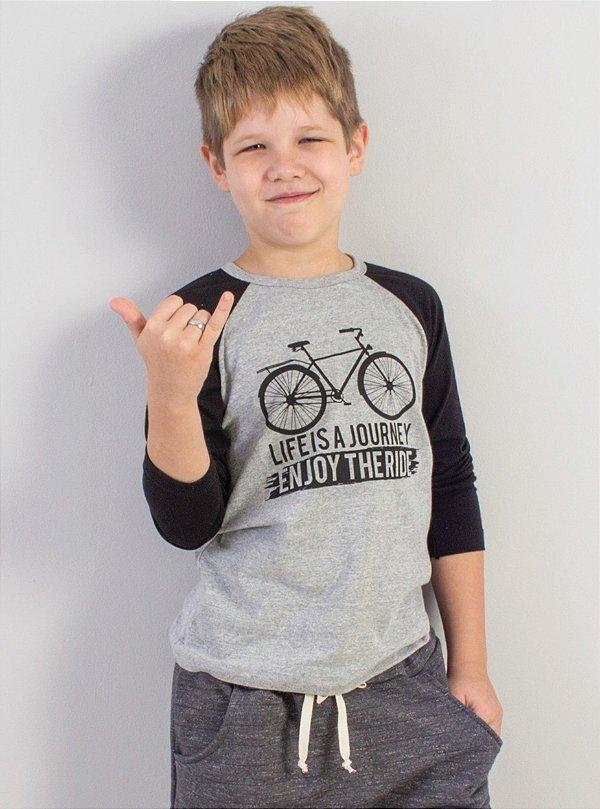 blusa raglan bike