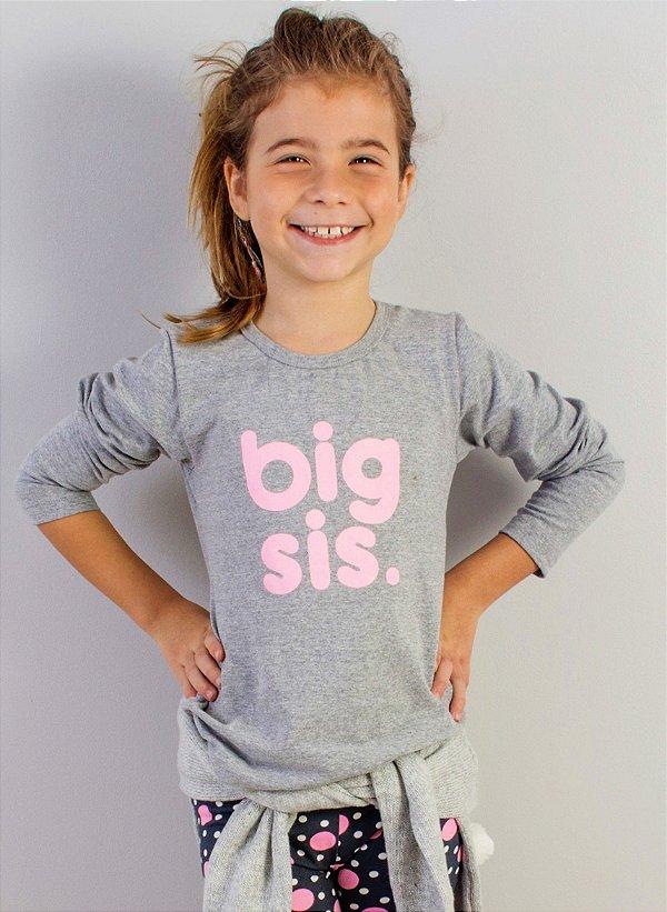 blusa longa big sister