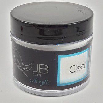 Pó Acrílico JB Nails - Clear - 60g