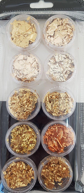 Kit Papel Ouro