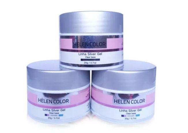 Gel Helen Color - Linha Silver - 20g