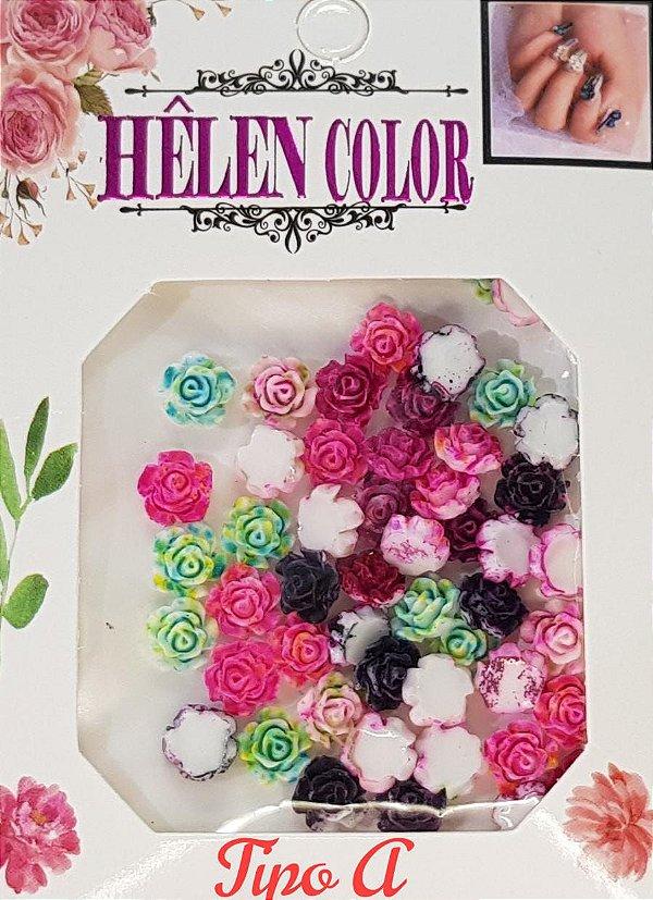 Fimo para encapsular Hêlen Color (rosas)