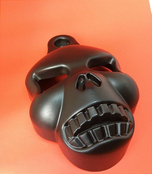 Capa da Buzina - modelo BlackSkull - VKNI00509 - VRodKings - preta