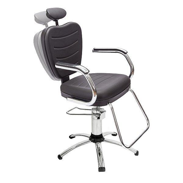 Cadeira Top Reclinável para Maquiagem e Sobrancelha - Dompel