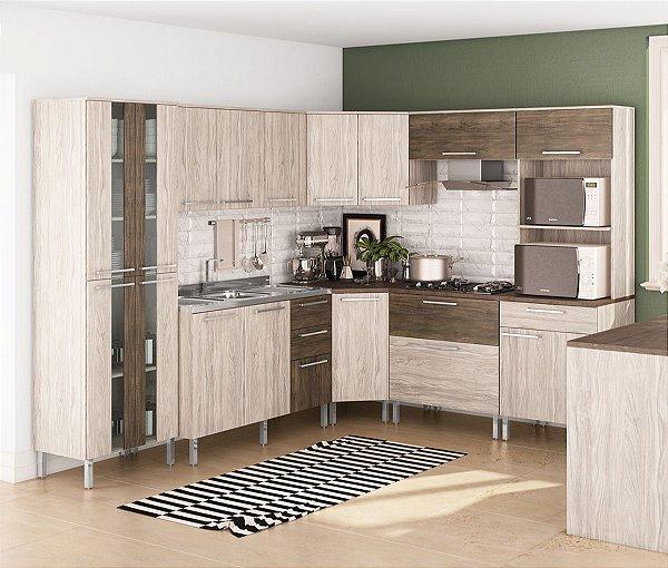 Cozinha Completa Modulada Atraente - Arte Cass Elmo20