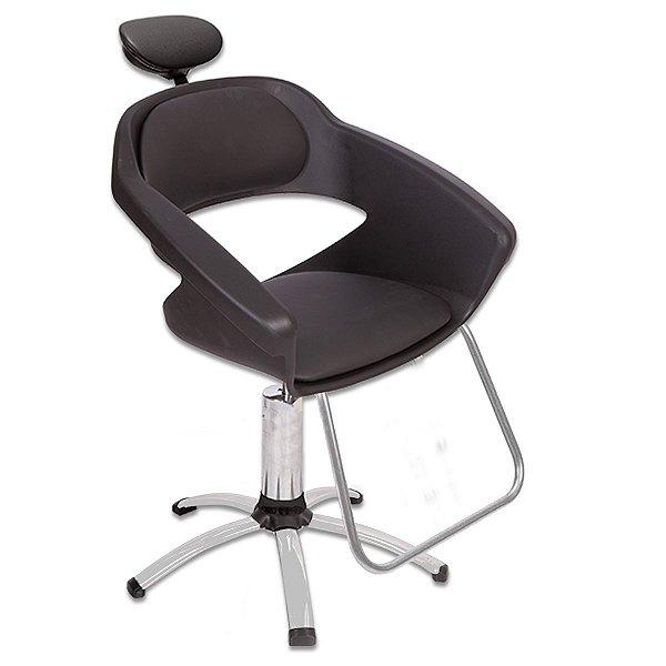 Cadeira para Salão De Beleza Primma Dompel Com Apoio Cabeça