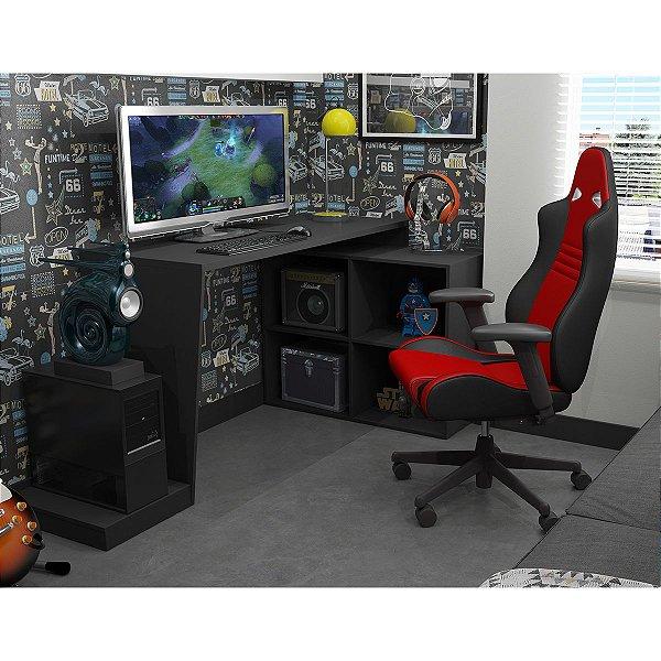 Mesa para Computador Gamer BMG 03 - Preto
