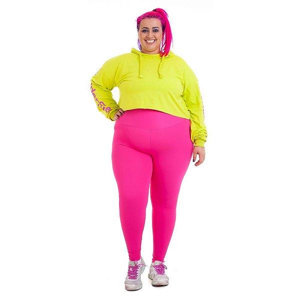 Legging Plus Size Joana Dark - Rosa Emana Plus