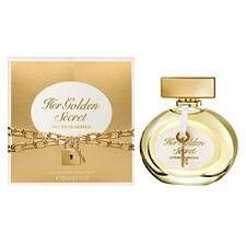 ANTONIO BANDERAS HER GOLD SECRET EDT FEM 80ML