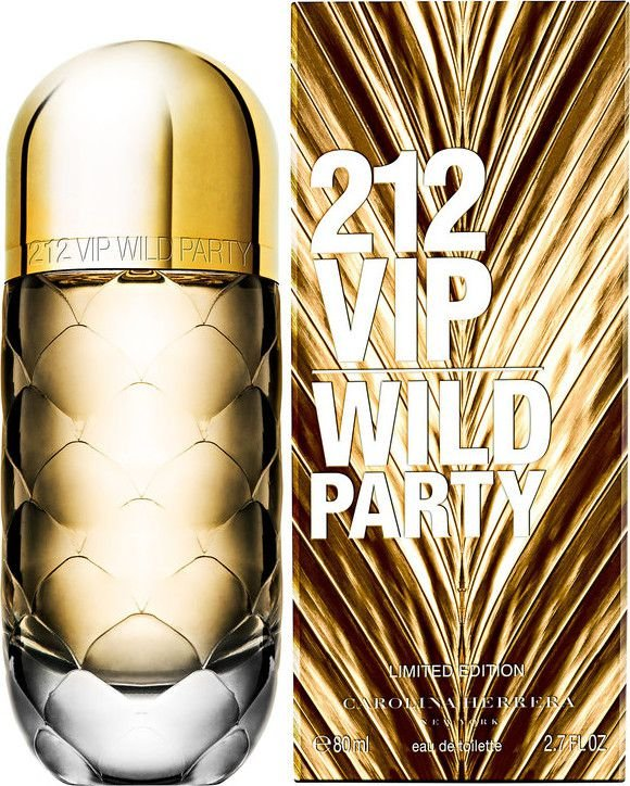 212 VIP Wild Party de Carolina Herrera Eau de Toilette Feminino