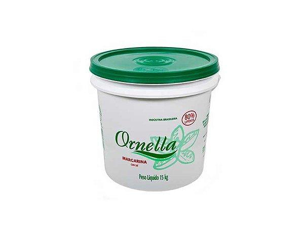 MARGARINA ORNELLA 80% - BALDE 15 KG
