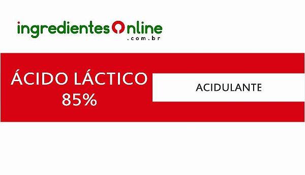 ÁCIDO LÁCTICO (LÍQUIDO A 85%)