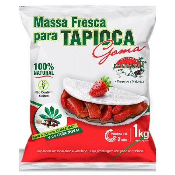 TAPIOCA PRONTA (PANTANAL)