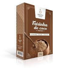 FARINHA DE COCO INTEGRAL -SANTO OLEO -200 gramas