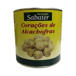 CORAÇÕES DE ALCACHOFRA-1,3 KG-DRENADO- SABATER