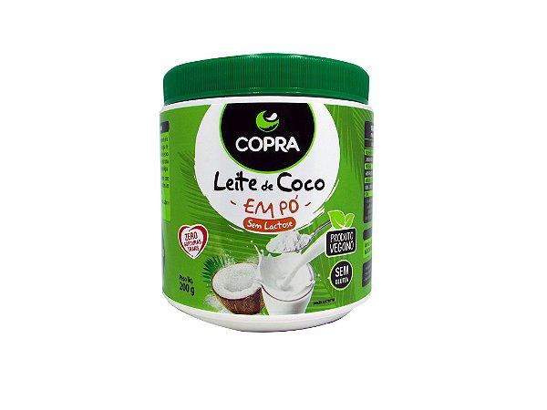 LEITE DE COCO EM PÓ-COPRA-200 GRAMAS