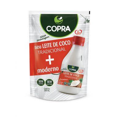 LEITE DE COCO POUCH 200 ML - COPRA