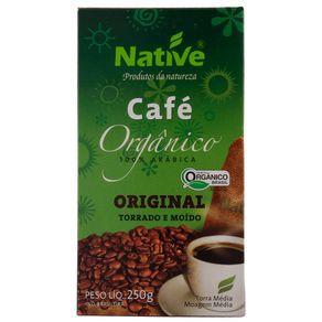 CAFÉ NATIVE PÓ-  250 gramas - 100% arabica ORGANICO