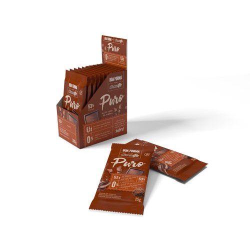 Chocolate Boa Forma Puro unidade de 25g - Chocolife