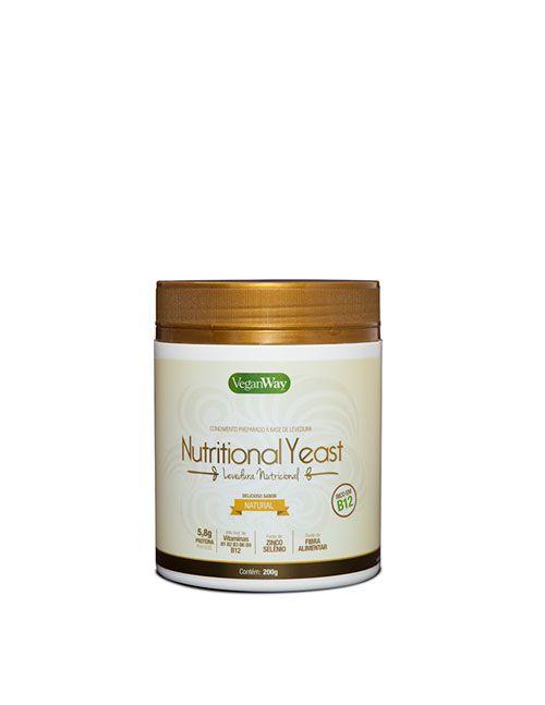 NUTRITIONAL YEAST SABOR NATURAL 200G -LEVEDURA NUTRICIONAL