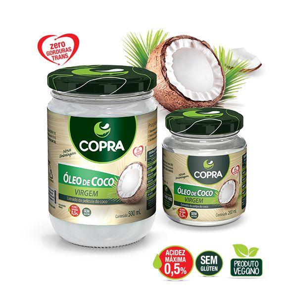 ÓLEO DE COCO VIRGEM - COPRA