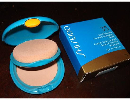 Shiseido Sun Care UV Compact Foundation FPS 35