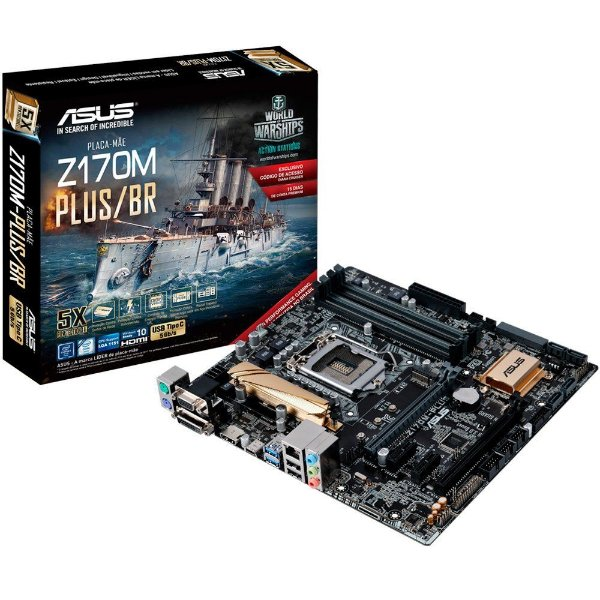 PLACA MAE 1151 Z170M-PLUS/BR DDR4 ASUS