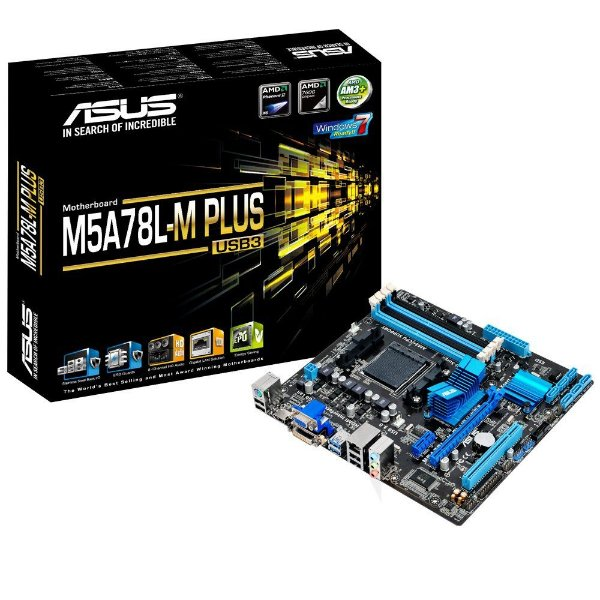 PLACA MAE AM3 MICRO ATX M5A78L-M PLUS USB3 DDR3 ASUS