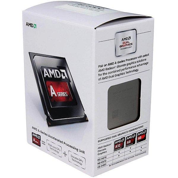 PROCESSADOR FM2 DUAL CORE A4 6300 3,70GHZ 1 MB CACHE AMD