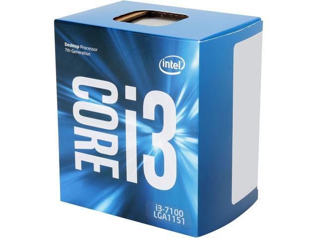 PROCESSADOR 1151 CORE I3 7100 3.90GHZ KABY LAKE 3 MB CACHE DUAL CORE INTEL