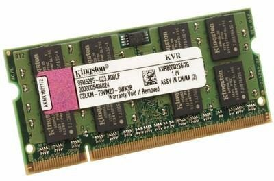 MEMORIA 4096 DDR2 800 MHZ KVR800D2S6/4G NOTEBOOK KINGSTON