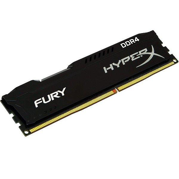 MEMORIA 4GB DDR4 2400 MHZ HYPERX BLACK FURY HX424C15FB/4 KINGSTON